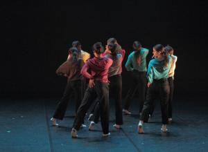 Taller 'Amalgama'. Pieza 'Des-conexión', coreografía de Diana Noriega (fotografía: CIRAE. Coral González)
