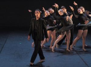 Taller 'Amalgama'. Pieza 'L'Enfant Sauvage', coreografía de Isabel Vázquez (fotografía: CIRAE. Coral González)