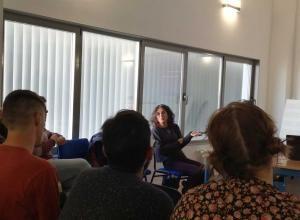 Segundo encuentro de la Cátedra 2019 (fotografía: Marián Ruiz)