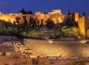 Teatro romano de Málaga (Foto: Jorge Dragón)