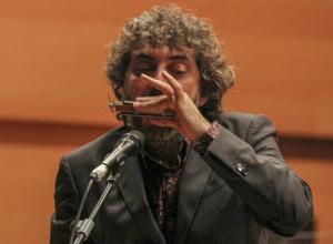 Antonio Serrano con la OCAL dirigida por Michael Thomas © Antonio Barce