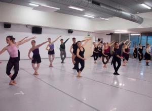 Clases de danza neoclásica (fotografía: Ro Menéndez)