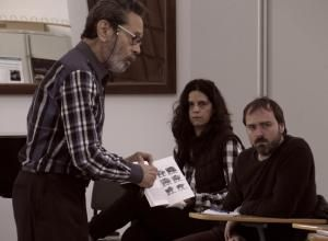 Primer Encuentro de la edición 2017 de la Cátedra de Composición Manuel de Falla. Fotografía: María Marí-Pérez
