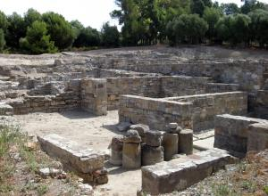 Enclave Arqueológico de Carteia.Termas