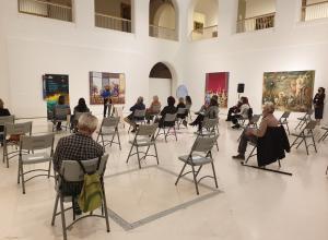Asistentes al acto de presentación del XVIII Festival de Música Española de Cádiz © Jesús Heredia