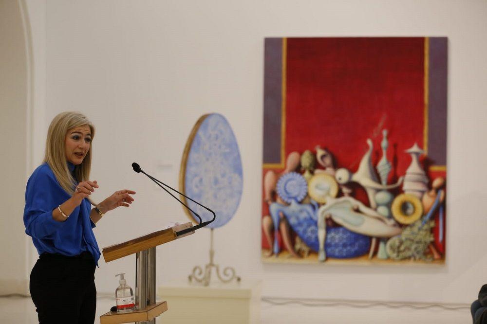 La Consejera de Cultura y Patrimonio Histórico, Patricia del Pozo, presenta el Festival de Música Española de Cádiz © Jesús Heredia