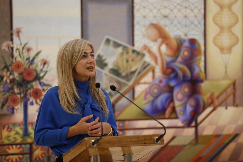 La Consejera de Cultura y Patrimonio Histórico, Patricia del Pozo, presenta el Festival de Música Española de Cádiz en el Museo de Cádiz © Jesús Heredia