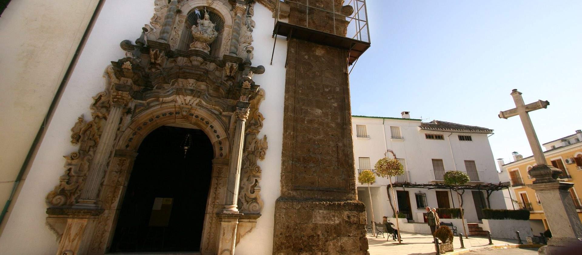 Ermita de la Aurora. Foto: Turismo de Priego de Córdoba