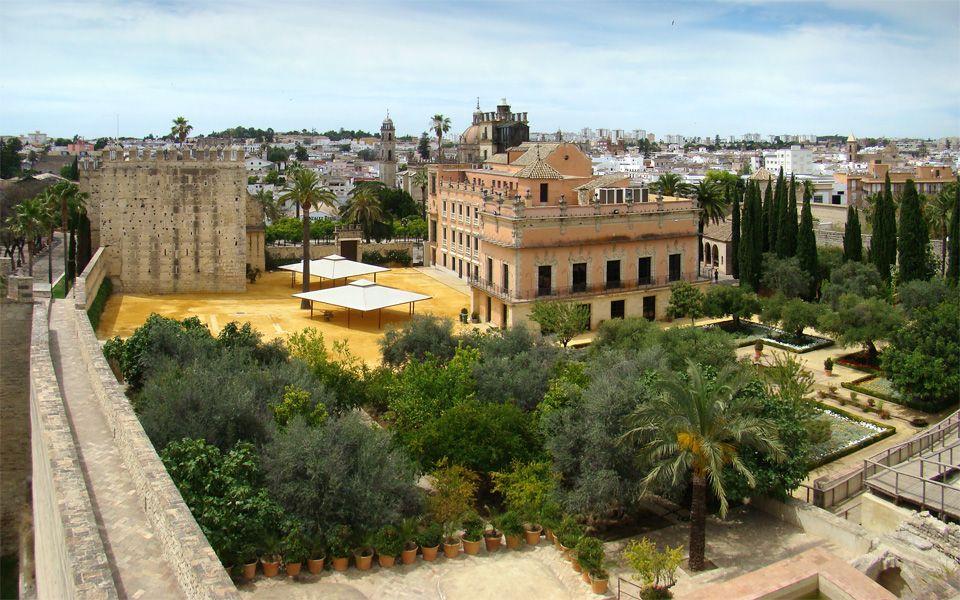 Archivo: Andalucía Jerez de la Frontera Alcázar