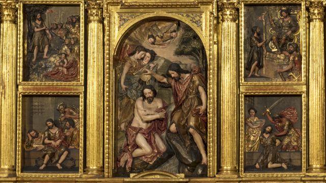 Los retablos de Martínez Montañés