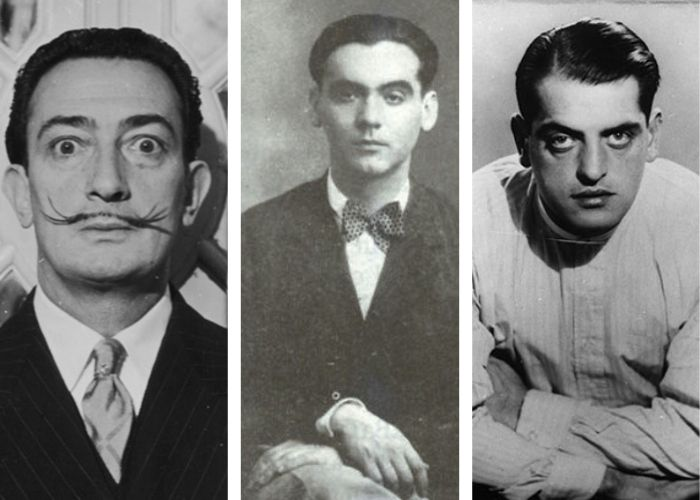 Dalí, Lorca y Buñuel