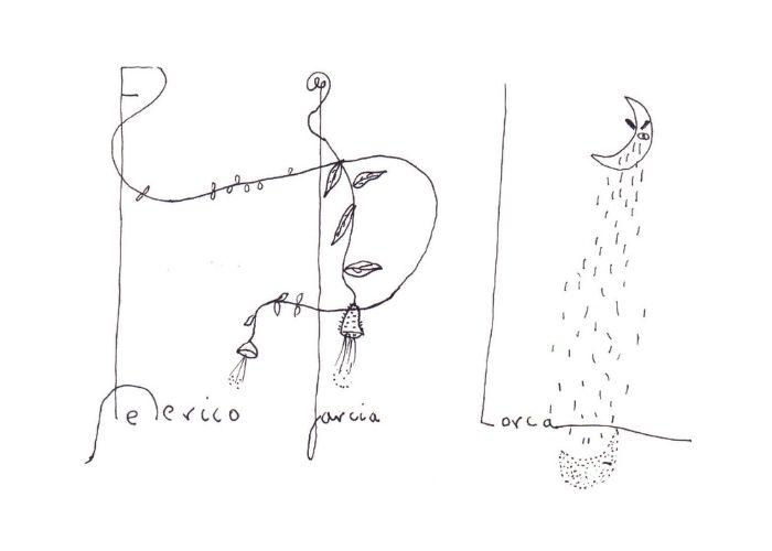 Dibujos de Lorca