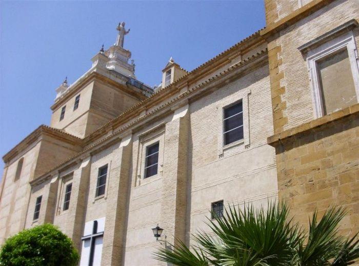 Imagen lateral del Convento de San Agustín