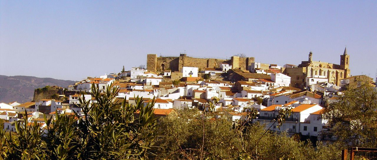 Aroche y su castillo
