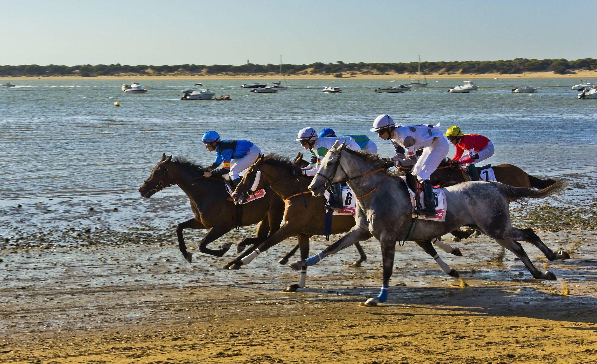 Carrera de caballos. Foto: Guillén Pérez, en flickr