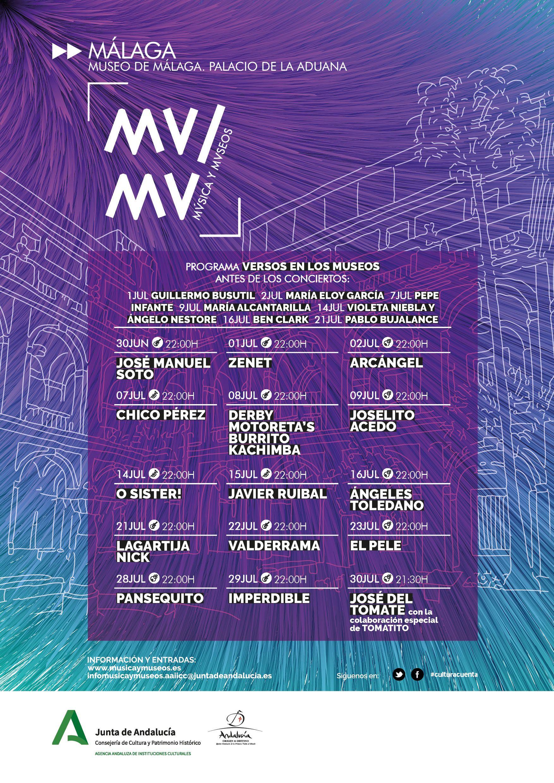 MUMU 2020. Música y Museos en el Museo de Málaga. Palacio de la Aduana