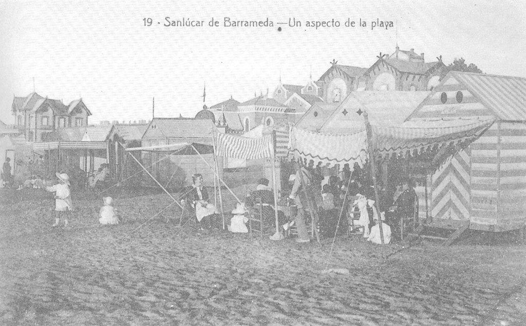 Sanlúcar a principios siglo XX. Dominio público, https://commons.wikimedia.org/w/index.php?curid=1892059