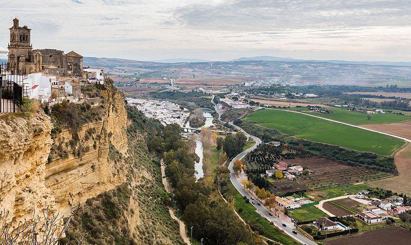 Vista de Arcos de la Frontera desde el Balcón de la Peña Nueva.Diego Delso, delso.photo, Licencia CC-BY-SA
