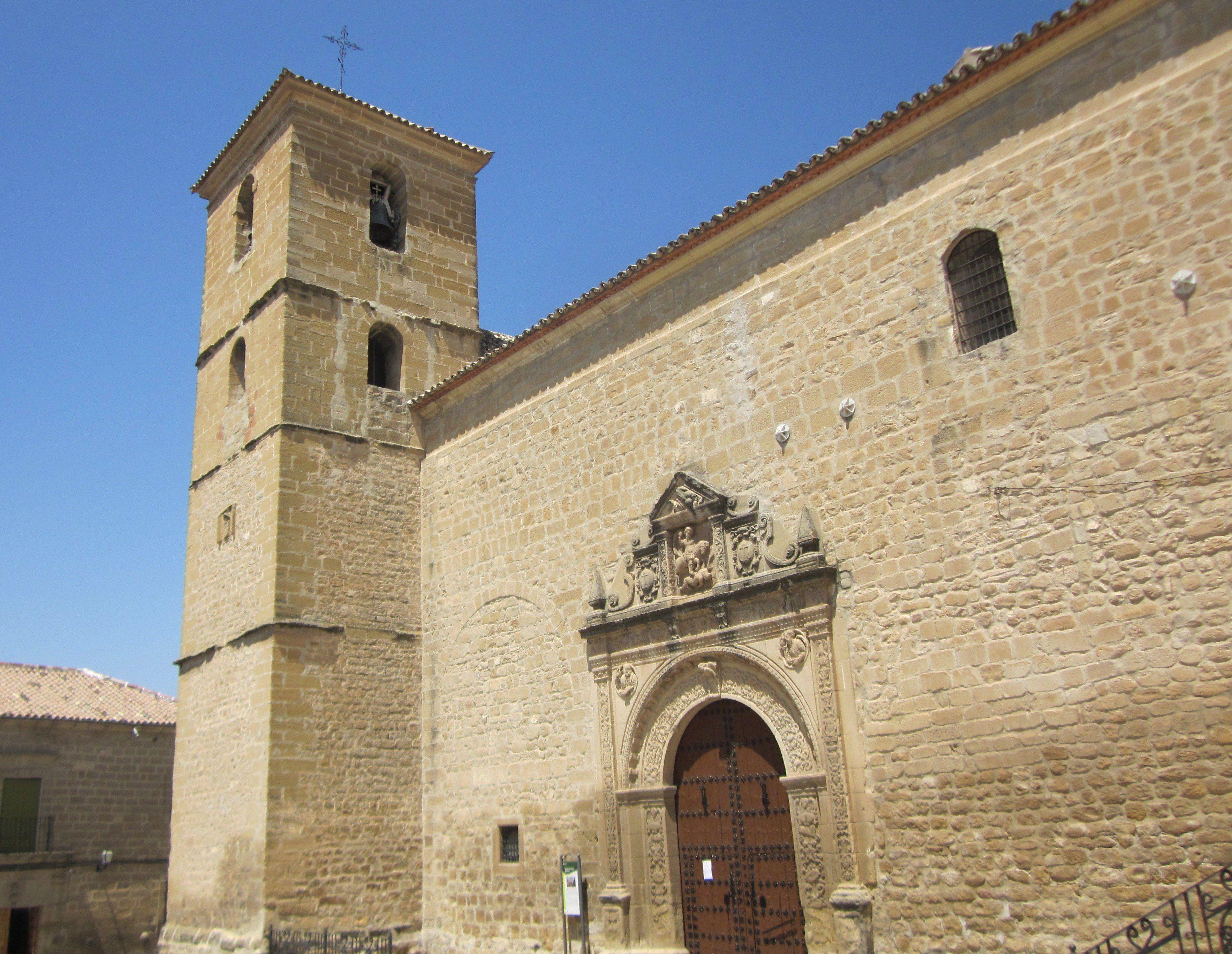 Iglesia de Santiago, en Begíjar
