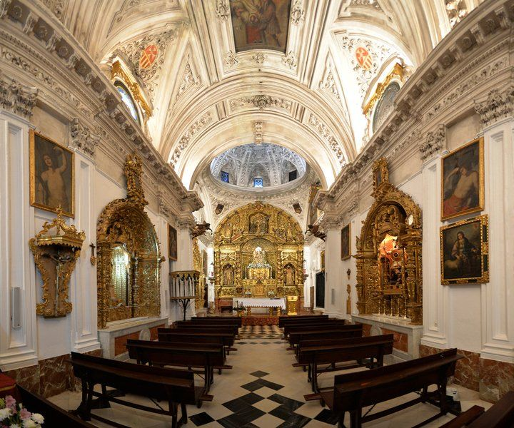 Interior del convento de la Encarnación