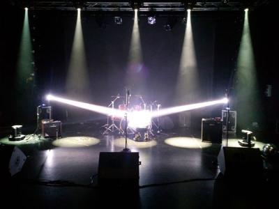 Curso de iluminación y sonido para el espectáculo en vivo. Nivel II