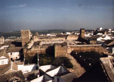 Vista general - Alcazaba - Bujalance - Córdoba
