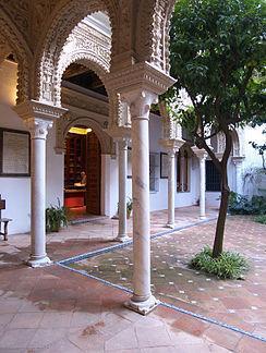 Casa de los Pinelo, Patio Renacentista