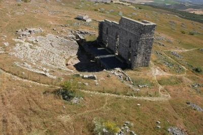 Acinipo Ronda la Vieja .Enclave Arqueológico Acinipo Ronda