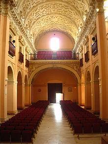 Auditorio de la Merced en Sanlúcar de Barrameda (Cádiz)