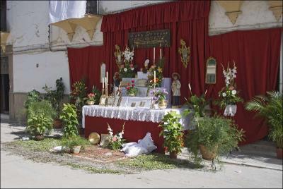 Altar de los curas Autor: José Miguel Mejías del Río Fecha: 2009 Fuente: Instituto Andaluz del Patrimonio Histórico