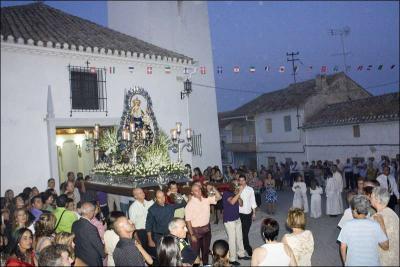 Procesión de la Virgen del Rosario Autor: Eva Cote Montes Fecha: 2009 Fuente: Instituto Andaluz del Patrimonio Histórico