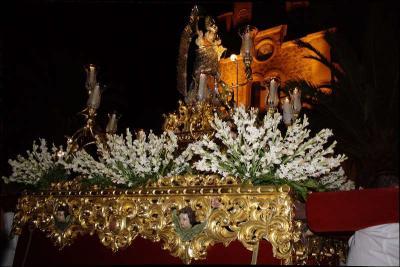 Procesión de la Virgen en el Rosario Autor: Rosa Satué López Fecha: 2010 Fuente: Instituto Andaluz del Patrimonio Histórico