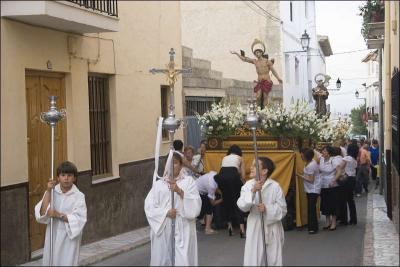Procesión de San Antonio Autor: Joaquín Marín Díaz Fecha: 2009 Fuente: Instituto Andaluz del Patrimonio Histórico