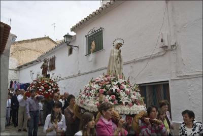 Procesión Autor: Ana Belén García Muñoz Fuente: Instituto Andaluz del Patrimonio Histórico