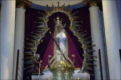 Virgen de la Cabeza Autor: Eva Cote Montes Fecha: 2009 Fuente: Instituto Andaluz del Patrimonio Histórico
