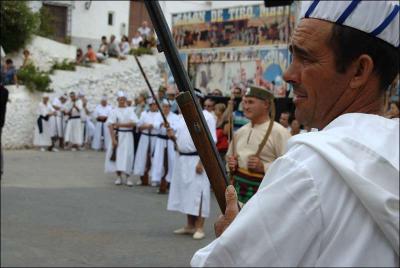 Llegada de las tropas moras Autor: Ana Belén García Muñoz Fecha: 2009 Fuente: Instituto Andaluz del Patrimonio Histórico
