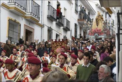 Procesión de la Virgen de la Candelaria Autor: Marc Ballester i Torrents Fecha: 2009 Fuente: Instituto Andaluz del Patrimonio Histórico