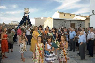 Procesión de la Virgen de los Dolores Autor: José Miguel Mejías del Río Fuente: Instituto Andaluz del Patrimonio Histórico