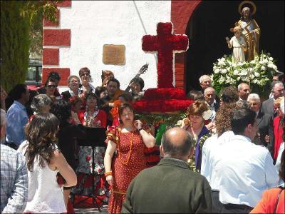 Salida de la Cruz y San José Autor: Mari Cruz Cánovas Lázaro Fecha: 2009 Fuente: Instituto Andaluz del Patrimonio Histórico