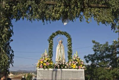 Trono de la Virgen de Fátima Autor: Ana Belén García Muñoz Fuente: Instituto Andaluz del Patrimonio Histórico