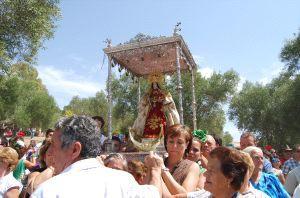 Romería de la Virgen de las Montañas en Villamartín