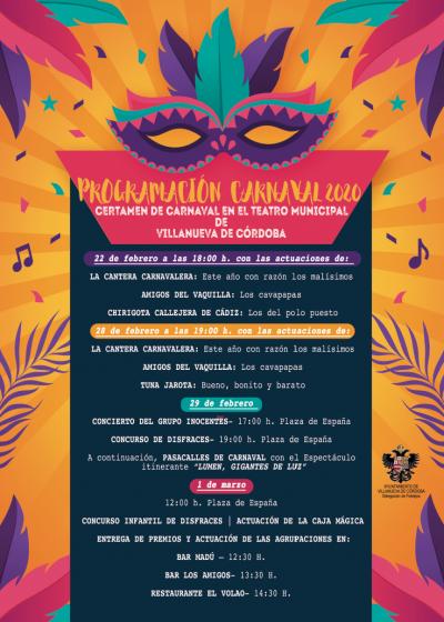 Carnaval de Villanueva de Córdoba