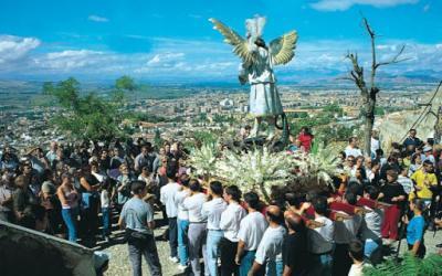 Romería de San Miguel Alto en Albaicín