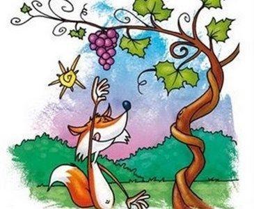 Cuentacuentos, 'La zorra y las uvas'. Online