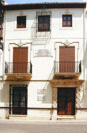 Casa Natal y Museo de Niceto Alcalá-Zamora y Torres