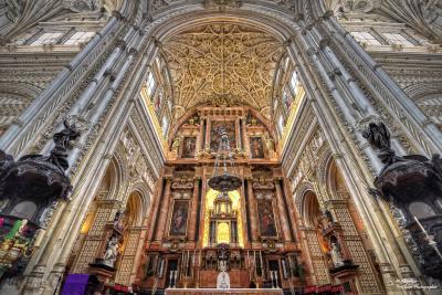 Puzzle online de la Capilla Mayor de la Mezquita Catedral