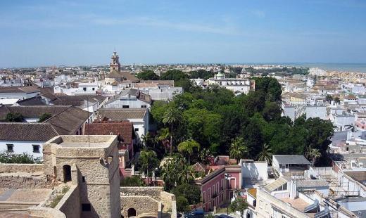 Vista de Sanlúcar desde el Barrio Alto