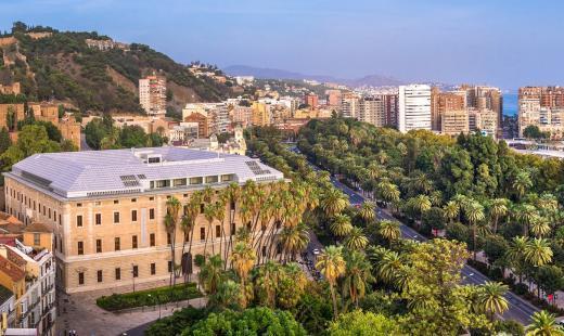 Paseando por Málaga