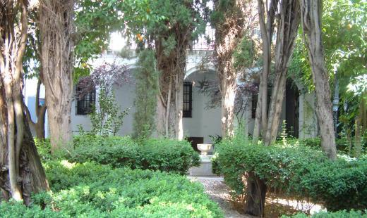 Jardines del Museo Casa de los Tiros