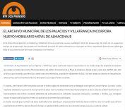 EL ARCHIVO MUNICIPAL DE LOS PALACIOS Y VILLAFRANCA INCORPORA NUEVO MOBILIARIO MÓVIL DE ALMACENAJE